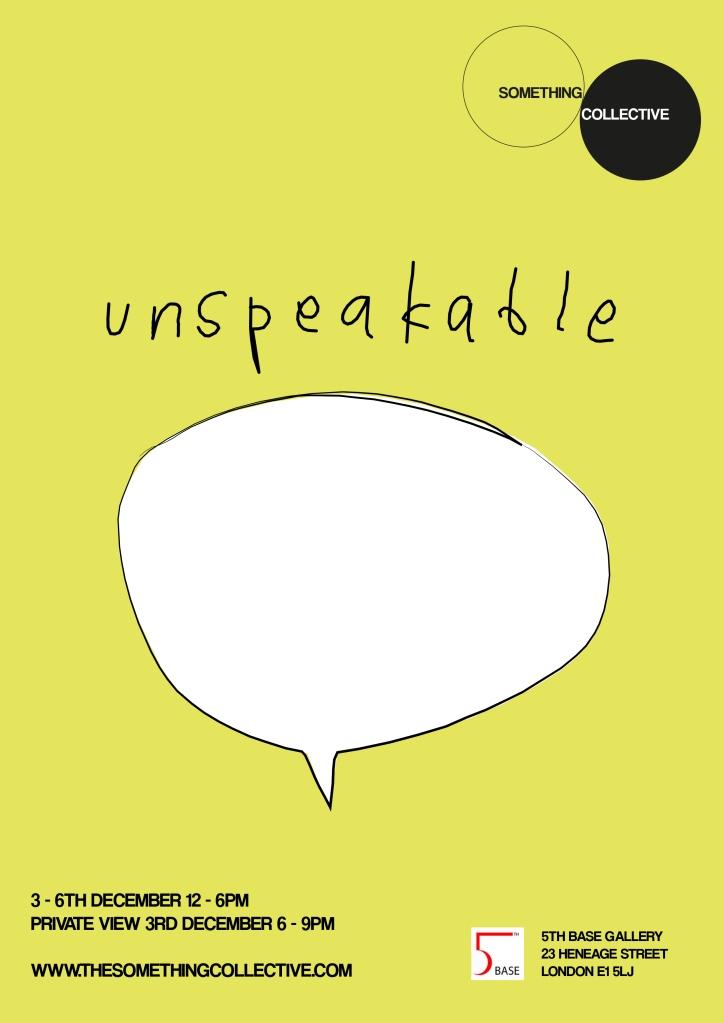 Unspeakable Flyer